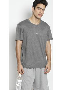 Camiseta Blend Fast Dryâ®- Cinza Escurospeedo