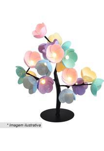 Luminária Árvore Luz De Fada Califórnia- Azul Claro & Vecormilu