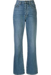 Eve Denim Calça Jeans Juliette Com Cintura Média - Azul