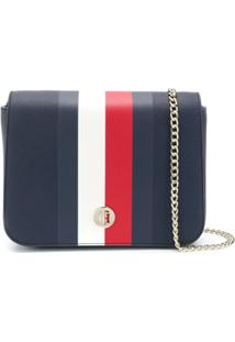 8f95f47ec Farfetch. Tommy Hilfiger Contrast Stripe Crossbody Bag ...