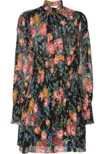 Zimmermann Vestido Allia Com Estampa Floral - Black Floral