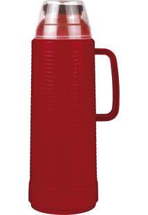 Garrafa Térmica Use Daily Flip Vermelha 1 Litro