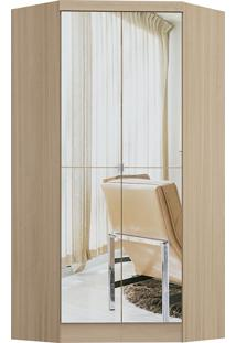 Modulo De Closet Com 2 Porta E 2 Gavetas C/ Espelho Infinity 3806A-Castro Móveis - Nogueira