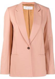 Victoria Victoria Beckham Slim Blazer Jacket - Rosa