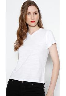 Camiseta Em Flamê - Brancajavali