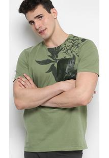 Camiseta Forum Estampa Gel Masculina - Masculino
