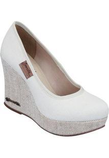 Scarpin Barth Shoes Land - Feminino-Off White