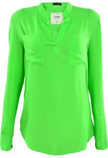 Camisa Gajang Verde