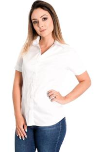 Camisa Pimenta Rosada Danna Branca