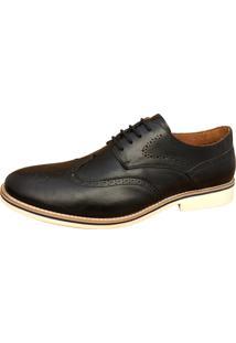 Sapato Social Sartre Oxford Inglês Preto