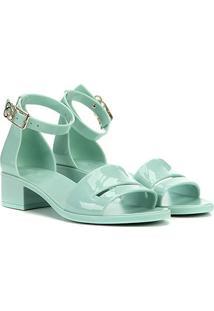 Sandália Petite Jolie Core - Feminino-Verde Claro