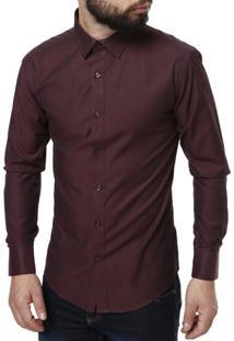 Camisa Manga Longa Vivacci Masculina - Masculino