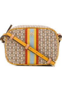 Tory Burch Gemini Link Logo Crossbody Bag - Neutro