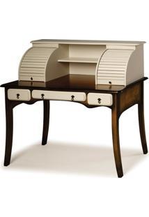 Escrivaninha Afrodite 3 Gavetas Com Console - Tommy Design