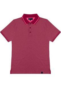 Camisa Polo Masculino Rovitex - Masculino-Roxo