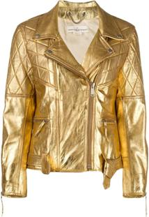Golden Goose Metallic Jacket - Dourado