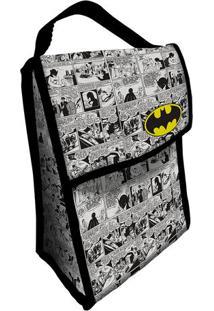 Bolsa Térmica Batman®- Branca & Preta- 26X19X12Cm