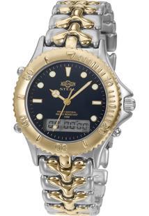 Relógio Magnum Feminino Steel Ms10030A