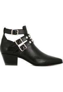 Saint Laurent Ankle Boot Modelo 'Blake' - Preto