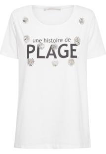 Blusa Feminina Histoire - Branco