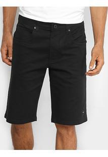 Bermuda Oakley De Passeio Mod 5 Pockets 2 Masculina - Masculino-Preto