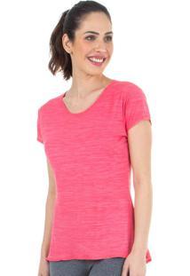 Camiseta Baby Look Rosa | 553.822