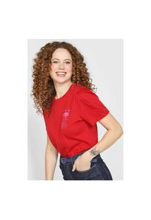 Camiseta Forum Sun Vermelha