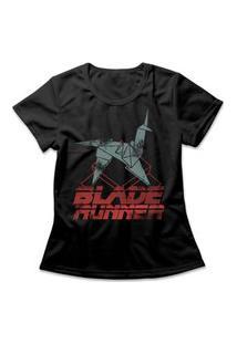 Camiseta Feminina Blade Runner Preto