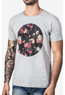 Camiseta Circulo Floral 0206