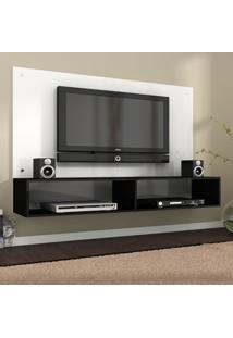 Painel Para Tv 60 Polegadas Evidência Preto E Branco 136 Cm