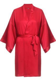 Robe Bella Luna Loungerie – Vermelho