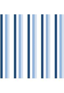 Papel De Parede Coleção Bambinos Azul Branco Listras 3307 Bobinex