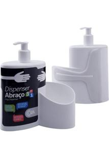 Dispenser Abraço Branco 600Ml 10864/0007 - Coza - Coza