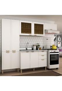 Cozinha Completa 4 Peã§As Americana Multimã³Veis 5681 Branco - Branco/Incolor - Dafiti