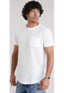 Camiseta Com Bolso Off White