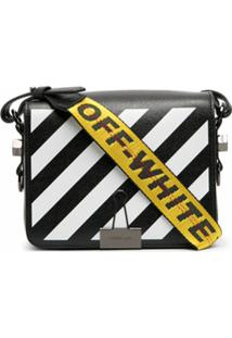 Off-White Diag-Stripe Shoulder Bag - Preto