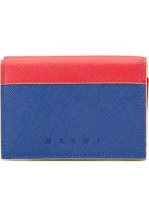 Marni Carteira Color Block - Vermelho