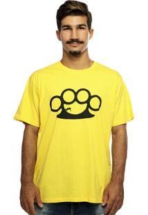 Camiseta Hardivision Half Pipe Amarela