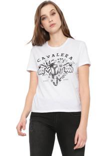 Camiseta Cavalera Girl Punch Branca
