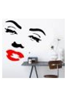Adesivo De Parede Marilyn Monroe 4 - Médio