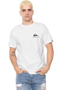 Camiseta Quiksilver Slab Branca
