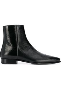 Givenchy Ankle Boot Bico Fino - Preto
