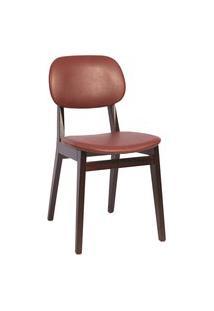 Cadeira London Tramontina 14060436 Tabaco Estofado Vinho
