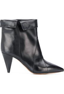 Isabel Marant Ankle Boot Larel - Preto