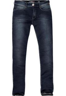 Calça Khelf Stretch Skinny Fit Azul Jeans