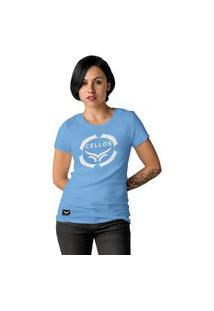 Camiseta Feminina Cellos Corp Premium W Azul Claro