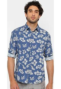 Camisa Triton Tricoline Tint Masculina - Masculino