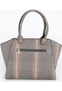 13d8c6457 ... Bolsa Feminina Textura Croco Marisa