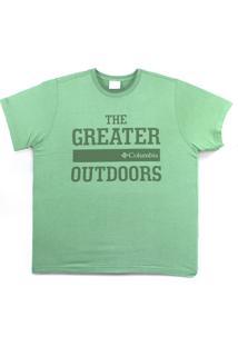 Camiseta Columbia The Greater Outdoor Verde Foliage 320280