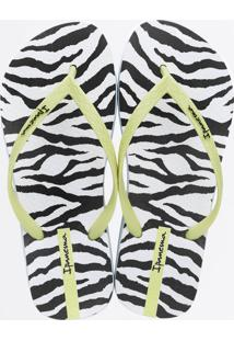 Chinelo Ipanema Feminino Trendy Animal Print